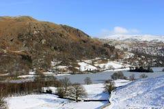 Rydal Wasser und erwischt Narbe, englischen See-Bezirk. Stockfoto