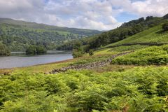 Rydal Water, Cumbria Royalty Free Stock Photos