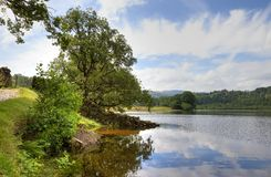 Rydal Water, Cumbria Royalty Free Stock Photography