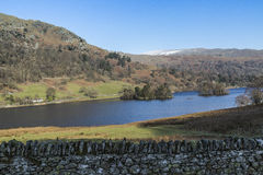 Rydal Water in the Lake District, Cumbria, England. Stock Images