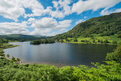 Rydal Water in the Lake District. Stock Images