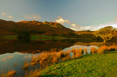 Rydal Water. Morning view over Rydal water, Cumbria. Lake-District. England Royalty Free Stock Photo