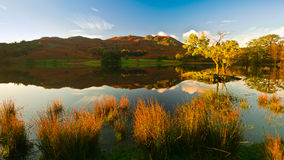 Rydal Water. Morning view over Rydal water, Cumbria. Lake-District. England Royalty Free Stock Image
