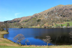 Rydal Water and Nab Scar, English Lake District Royalty Free Stock Photos