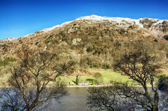 Rydal Water and Nab Scar Stock Image