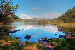 Rydal Water in Summer Stock Photography