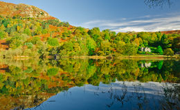 Rydal Water. View over Rydal water, Cumbria. Lake-District. England Royalty Free Stock Images