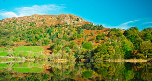 Rydal Water. View over Rydal water, Cumbria. Lake-District. England. Rydal Mount Stock Photos