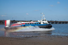 Ryde Hovercraft Isle Of Wight Royalty Free Stock Images