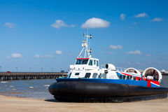 Ryde Hovercraft Isle Of Wight Royalty Free Stock Image