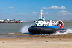 Ryde Hovercraft Isle Of Wight Stock Photos