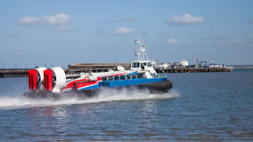 Ryde Hovercraft Isle Of Wight Royalty Free Stock Photography