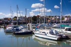 Ryde-Insel von Wight England stockfotos
