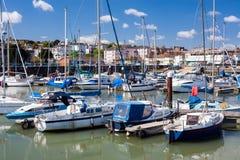 Ryde wyspa Wight Anglia zdjęcie stock