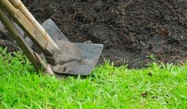 Rydli narzędzia w ogródzie Obrazy Stock