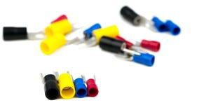 Rydli terminali kablowego włącznika elektryczni akcesoria Obraz Stock