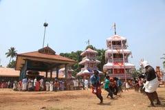 rydwanów festiwalu świątynia fotografia royalty free