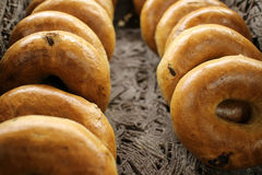 Rye Bagels Royalty Free Stock Images