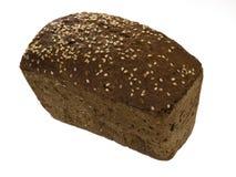 Rye-bread. Isolated on white background stock photo