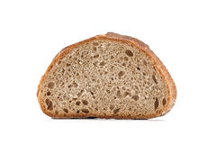 Rye bread. Isolated on white background Royalty Free Stock Image
