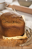 Rye bread. Freshly baked traditional rye bread stock images