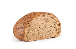 Rye bread. On white Stock Photography