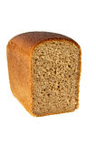 Rye bread. Loaf of rye bread isolated on white background Stock Photo