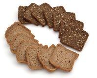 Rye bread. Rye braed isolated om white background Royalty Free Stock Photo
