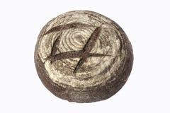 Rye bread. Isolated rye bread Royalty Free Stock Photo