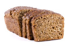 Rye Bread. Sliced rye bread close up Royalty Free Stock Image