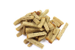 Rye bread crumbs Royalty Free Stock Photography