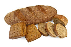 Rye bread diverse Stock Photo