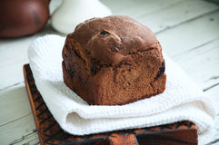 Rye bread with dry fruits filling Royalty Free Stock Photo