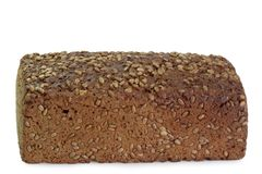 Rye Bread with Grains Stock Image