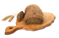 Rye bread isolated Royalty Free Stock Image