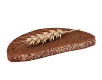 Rye bread isolated on white background. Rye bread isolated on the white background Stock Images