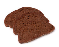 Rye bread isolated on white background. Rye bread isolated on the white background Royalty Free Stock Photo