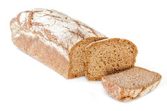 Rye Bread Isolated Royalty Free Stock Images