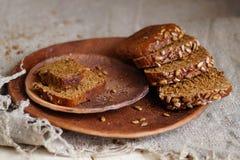 Rye bread stock photography