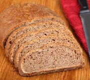 Rye Bread Loaf Royalty Free Stock Photos