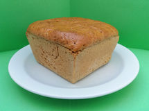 Rye bread loaf Stock Images