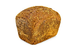Rye bread rectangular Royalty Free Stock Photography