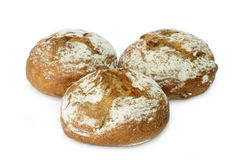 Rye bread rolls Royalty Free Stock Photography