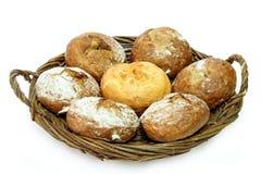 Rye bread rolls Royalty Free Stock Photo