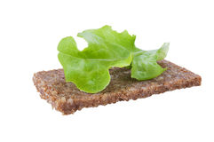 Rye bread sandwich Royalty Free Stock Image
