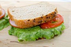 Rye bread sandwich Stock Photo