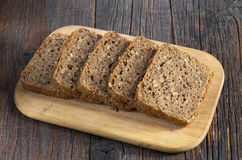 Rye bread with seeds Royalty Free Stock Images