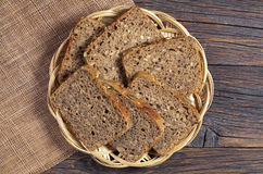 Rye bread with seeds Stock Image