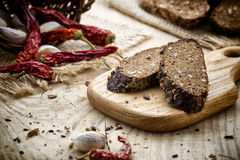 Rye-bread. Royalty Free Stock Images