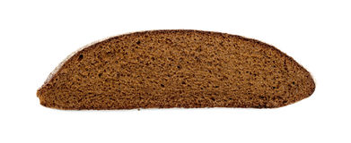 Rye bread slice Stock Photo